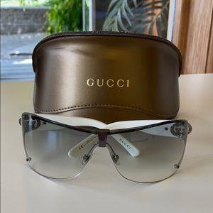 Authentic Gucci Women's Wrap Sunglasses 2807/S